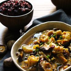香菇蒸鸡腿 #铁釜烧饭就是香#的做法