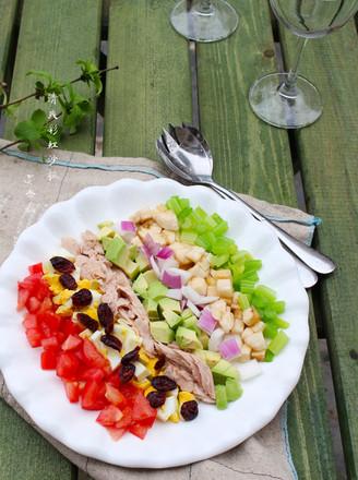 清爽彩虹沙拉的做法