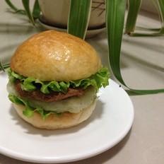 素食汉堡包