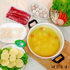 暖身咖喱火锅