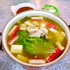 浓汤宝酸菜鱼火锅