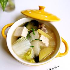 白菜土豆炖豆腐