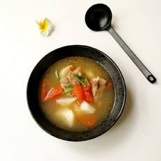 蕃茄小排山药汤