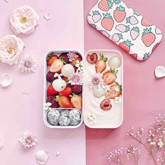 草莓酸奶思慕雪