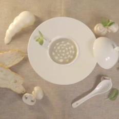 西式经典奶油蘑菇汤