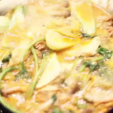 泡菜肥牛锅