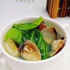 车螺芥菜汤