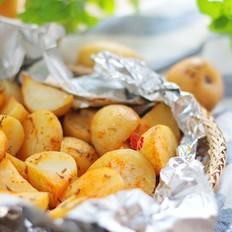 新奥尔良香草烤小土豆
