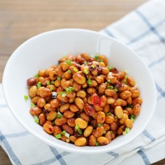 香菇豆豉酱黄豆