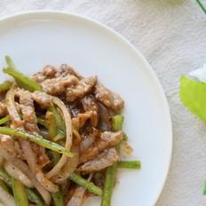 黑椒牛肉炒洋葱