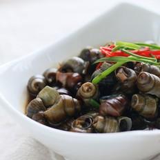 蒜茸豆豉炒田螺