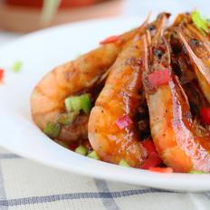 黑椒煎焗虾