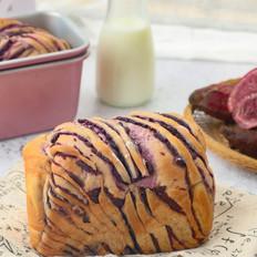 紫薯吐司的做法