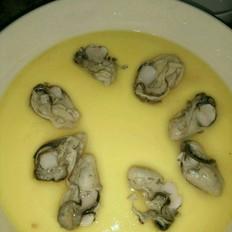 海蛎子鸡蛋糕