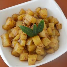 轻松上手的孜然土豆