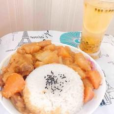 咖喱牛肉土豆饭~咖喱咖喱!