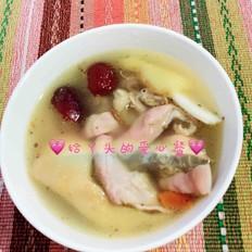 田七猪肚鸡汤