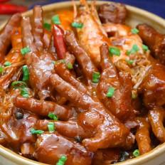 鲜虾鸡爪金针菇