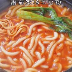 番茄浓汤土豆粉