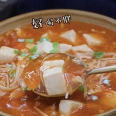 番茄鸡蛋豆腐羹