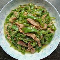 螺丝椒炒肉