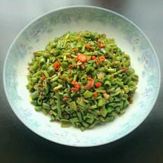 霉豆豉炒空心菜梗
