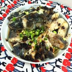 豆豉蒸钳鱼