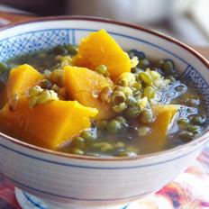 解暑南瓜绿豆汤