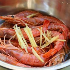 香烤阿根廷红虾的做法