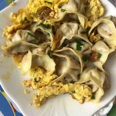 生煎豆腐饺子!豆腐饺子的多样吃法!