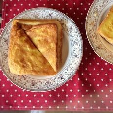 蛋黄派三明治