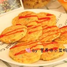 银鱼丝瓜山药饼  营养师小菜妈妈