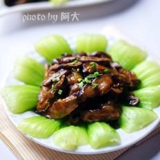 香菇油白菜