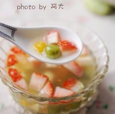 水果菠菜小汤圆