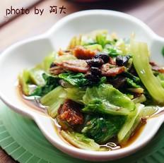 豆豉鲮鱼生菜