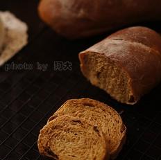 红糖桂圆全麦面包
