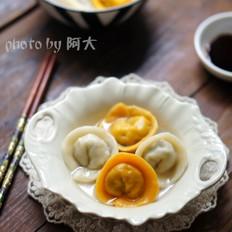 金银元宝饺