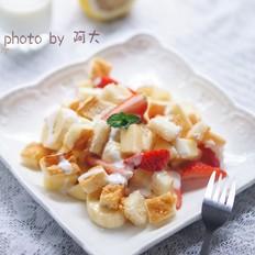 酸奶水果沙拉