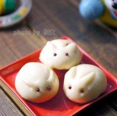 兔子豆沙包