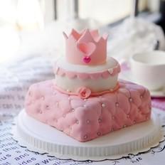 公主翻糖蛋糕