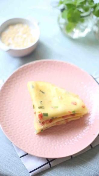 火腿肠鸡蛋软饼的做法