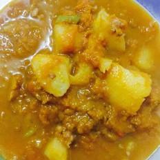 肉末土豆炖南瓜