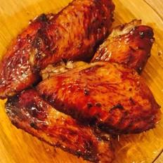 空气炸锅版蜜汁烤鸡翅的做法