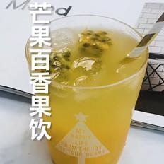 芒果百香果饮的做法