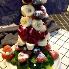 果蔬圣诞树