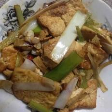 大葱家常豆腐