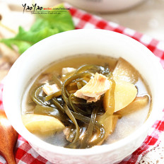 苹果海带瘦肉汤