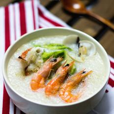 海鲜砂锅粥的做法