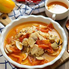 蕃茄鱼片汤