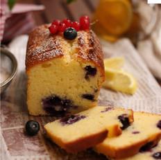 蓝莓柠檬磅蛋糕